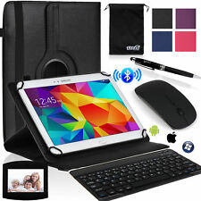 EEEKit Office Kit for 10 Inch Tab Case Cover+Wireless Bluetooth Keyboard/Mouse