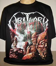 Obituary Back From The Dead T-Shirt Size S M L XL 2XL 3XL Death Metal Band new!