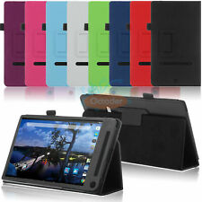 Folio PU Leather Stand Case Flip Fit Cover Skin for Dell Venue 8 7000 Tablet