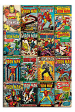 Iron Man Marvel Comic Covers Poster New - Maxi Size 91.5cm x 61cm