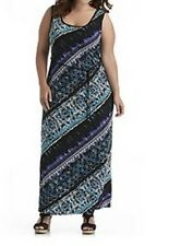Women's Summer Cocktail Day night party evening maxi knit dress plus 18W 24W $80