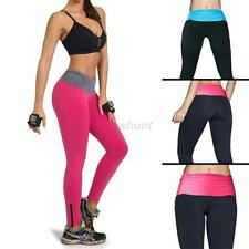 M L Women's Sexy High Waist YOGA Sport Running Pants Fitness Tight Leggings A57