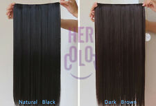 "NEW 24""Clip in Artificial human hair extensions Straight Curls Four color MJO-4"