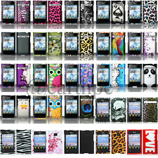 Hard Case Snap-on Phone Cover for LG Optimus Logic L35G Dynamic L38C