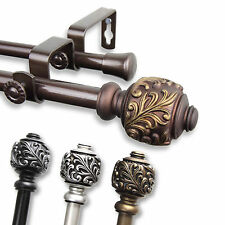 Tova Adjustable Double Curtain Rod