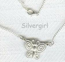 Silver Plated Chain Pewter or Silver Plate Charm Necklaces