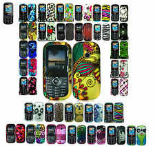 Screen Protector+Designed Skin Hard Case For Verizon LG COSMOS 2 II/3/III Phone