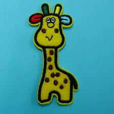 Giraffe Animal Iron on Sew Patch Cute Applique Badge Embroidered Animal Baby
