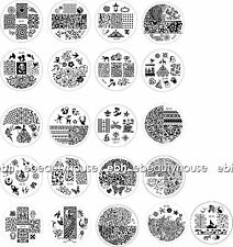 JQ 1-60 Designs Nail Art Image Stamp Stamping Plates Manicure Template #EB-059V