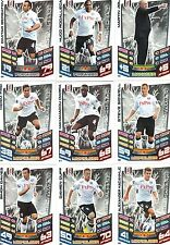 Match Attax 2012 / 2013 Topps - 17 Base Card TEAM Set - FULHAM