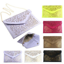 New Fashion Women Envelope Clutch Shoulder Messenger Bag Purse Handbag Trendy