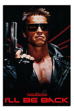 The Terminator I'll Be Back Film Movie Poster New - Maxi Size 36 x 24 Inch