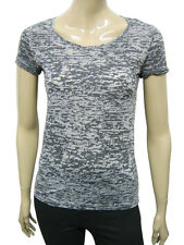 Womens Terranova T Shirt  Top Multi Camo Grey Print Size 10 to 16 Ladies A34