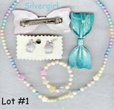 Kids Girls Jewelry Sets 4 Choices Necklace, Hair Accessories, Bracelet, Earrings