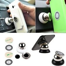Universal 360 Rotating Car Sticky Magnetic Stand Holder For CellPhone GPS Mobile