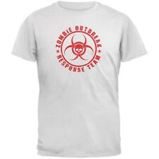Zombie Response Team White Adult T-Shirt