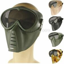 New Paintball Tactical Airsoft Full Face Eyes Nose Protection Safety Guard Mask