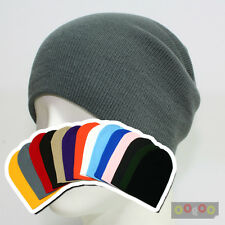 Beanie Various Color Acrylic Cotton Long Short Baby Bell Hat Cap Skull Ski NWT