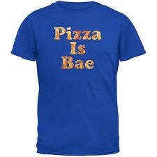 Pizza Is Bae Royal Adult T-Shirt