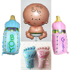 New Baby XL Foil Balloon Boy Girl Unisex Baby Shower Christening Birthday Choose