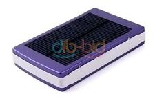 30000mAh Dual USB Solar Panel Power Bank External Battery Charger for iPhone