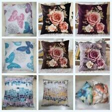 Vintage Bed Home Sofa Office Car Decor Cozy Soft Waist Pillow Case Cushion Cover