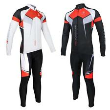 Spring Autumn Clothing Set Bicycle Bike Cycling Long Sleeve Jersey and Pants