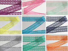 new 10/20/50/100 yards embroidery lace ribbon colors can be selected 10color