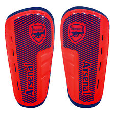 Arsenal Football Club Official Soccer Gift Shinguards Shinpads Red