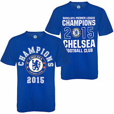 Chelsea FC Official Football Gift Boys Kids Champions 2015 T-Shirt