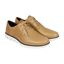 Timberland Earthkeepers Bradstreet Plain Toe Mens Tan Leather Oxfords Shoes