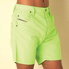 Mens Diesel Bmbx-Kroobeach Board Shorts In Lime From Get The Label