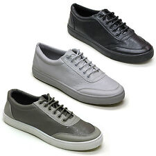 BRAND NEW MEN'S FAUX LEATHER AND PYTHON EMBOSS TRAINERS CASUAL  SHOES