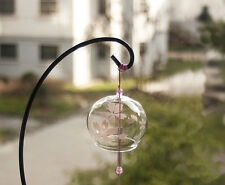 Japanese Traditional Glass Wind Chimes Bell Furin Cherry Blossom Sakura Gift MPH