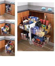 Blind Corner Optimiser - magic corner storage for 800-1000mm kitchen cabinets
