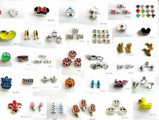 10pcs mixed Floating Charms living for your floating memory locket free shipping