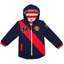 Manchester United Football Club Official Soccer Gift Baby Boys Hooded Jacket