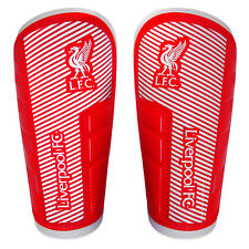 Liverpool Football Club Official Soccer Gift Shinguards Shinpads Red
