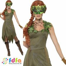 FOREST NYMPH FAIRY PIXIE ADULT - UK 8-18 - womens ladies fancy dress costume