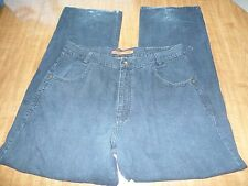 mens size 36 DARK BLUE DENIM JEANS PANTS SEAN JOHN cotton 33 inch INSEAM @@