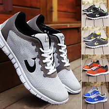 Men's Sport Trainer Gauze Breathable Ultra Light Gym Casual Shoes Loafer Running
