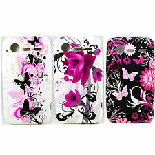 Soft Rubber Silicone Skin Gel Phone Case Cover For HTC Incredible S S710E G11