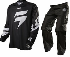 11435-11434-001 Shift Recon logo Pants and Jersey Combo Black