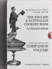 AUSTRALIA'S FIRST COOK BOOK by Edward Abbott NEW in slipcase  & companion volume