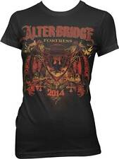 ALTERBRIDGE - Fortress - Girlie T SHIRT top S-M-L-XL Brand New - Official Top