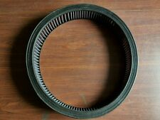 "K&N  14"" x 3"" Round Air Cleaner Washable Filter Reusable Element camaro corvette"