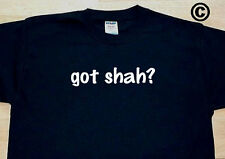 got shah? FAMILY TREE REUNION LAST NAME SURNAME T-SHIRT TEE FUNNY CUTE