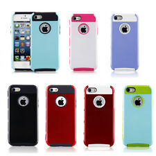 PC Shockproof Dirt Dust Proof Hard Matte Cover Case For Apple iPhone 5/5c/5s/6