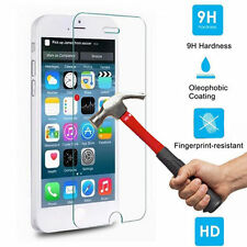 100% Genuine Tempered Glass Film Screen Protector For Apple iPhone 6 5S 4S 6Plus