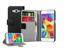 WALLET Leather Flip Case Cover Pouch For Samsung Galaxy Core Prime (+2 FILMS)